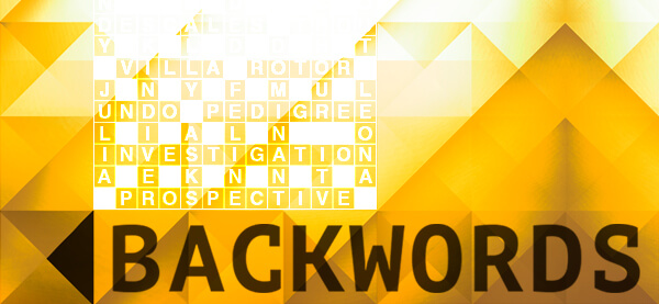 Puzzler Backwords