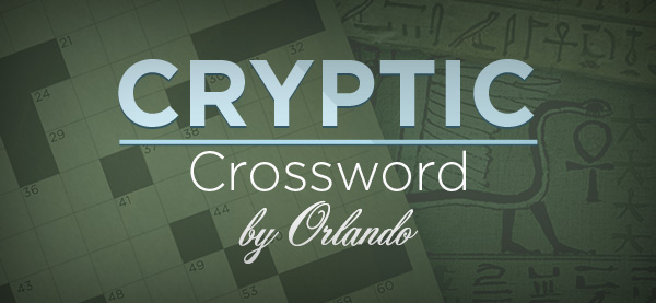 US Best Cryptic Crossword by Orlando