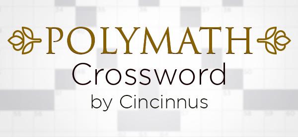 Best Polymath Crossword by Cincinnus