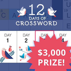 12 Days of Crossword