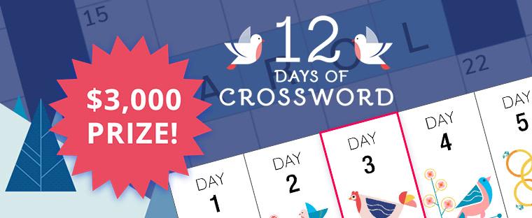 12 Days of Crossword