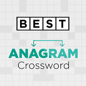 Best Anagram Crossword