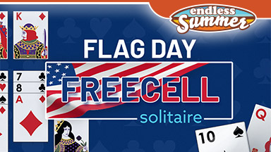 Flag Day FreeCell Solitaire