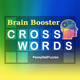 Penny Dell Brain Booster Crosswords