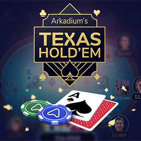 Arkadium's Texas Hold'em