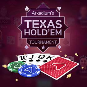 Arkadium's Texas Hold'em: Tournament