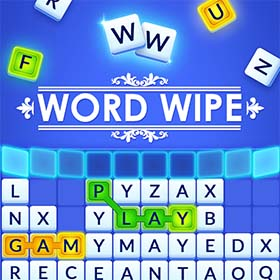 Arkadium Word Wipe Game